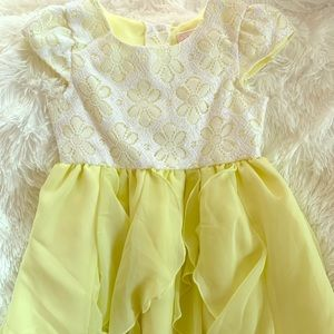 Other - White and yellow dress